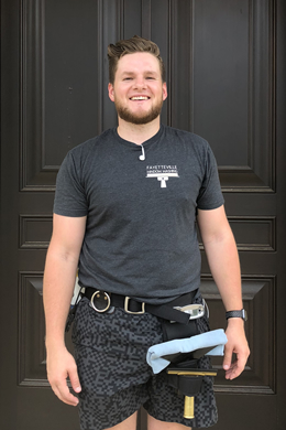 Preston Gibbs of Fayetteville Window Washing